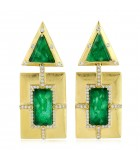 Jade Art Decor Earrings II